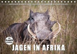 Emotionale Momente: Jagen in Afrika. (Tischkalender 2019 DIN A5 quer)