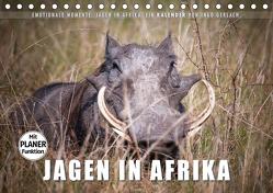 Emotionale Momente: Jagen in Afrika. (Tischkalender 2020 DIN A5 quer) von Gerlach,  Ingo