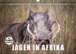 Emotionale Momente: Jagen in Afrika. (Wandkalender 2020 DIN A3 quer) von Gerlach,  Ingo