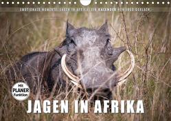 Emotionale Momente: Jagen in Afrika. (Wandkalender 2020 DIN A4 quer) von Gerlach,  Ingo