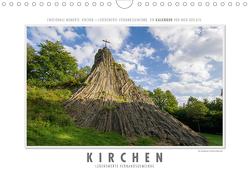Emotionale Momente: Kirchen – lebenswerte Verbandsgemeinde. (Wandkalender 2021 DIN A4 quer) von Gerlach,  Ingo