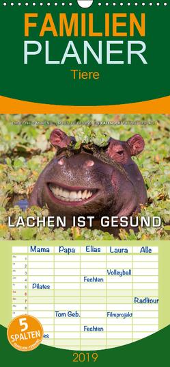 Emotionale Momente: Lachen ist gesund. – Familienplaner hoch (Wandkalender 2019 , 21 cm x 45 cm, hoch) von Gerlach,  Ingo