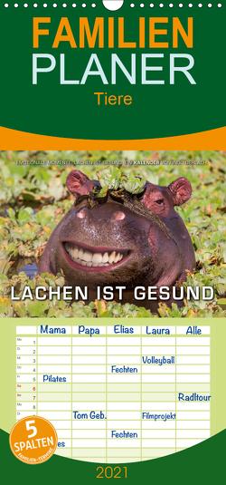Emotionale Momente: Lachen ist gesund. – Familienplaner hoch (Wandkalender 2021 , 21 cm x 45 cm, hoch) von Gerlach,  Ingo