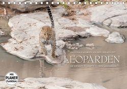 Emotionale Momente: Leoparden (Tischkalender 2018 DIN A5 quer) von Gerlach GDT,  Ingo