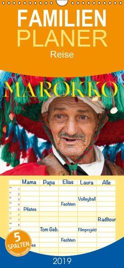 Emotionale Momente: Marokko – Familienplaner hoch (Wandkalender 2019 , 21 cm x 45 cm, hoch) von Gerlach GDT,  Ingo