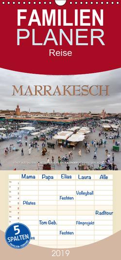 Emotionale Momente: Marrakesch – Familienplaner hoch (Wandkalender 2019 , 21 cm x 45 cm, hoch) von Gerlach GDT,  Ingo