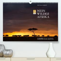 Emotionale Momente: Mein wildes Afrika (Premium, hochwertiger DIN A2 Wandkalender 2021, Kunstdruck in Hochglanz) von Gerlach GDT,  Ingo