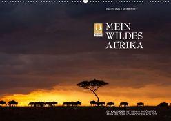 Emotionale Momente: Mein wildes Afrika (Wandkalender 2019 DIN A2 quer) von Gerlach GDT,  Ingo