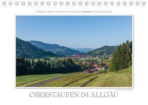 Emotionale Momente: Oberstaufen im Allgäu. (Tischkalender 2018 DIN A5 quer) von Gerlach,  Ingo