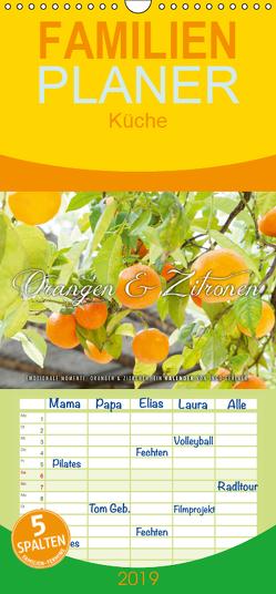 Emotionale Momente: Orangen & Zitronen. – Familienplaner hoch (Wandkalender 2019 , 21 cm x 45 cm, hoch) von Gerlach,  Ingo