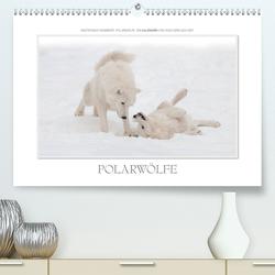 Emotionale Momente: Polarwölfe. / CH-Version (Premium, hochwertiger DIN A2 Wandkalender 2020, Kunstdruck in Hochglanz) von Gerlach GDT,  Ingo