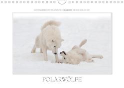 Emotionale Momente: Polarwölfe. / CH-Version (Wandkalender 2020 DIN A4 quer) von Gerlach GDT,  Ingo