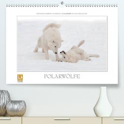 Emotionale Momente: Polarwölfe. (Premium, hochwertiger DIN A2 Wandkalender 2021, Kunstdruck in Hochglanz) von Gerlach GDT,  Ingo