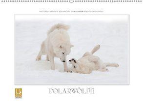 Emotionale Momente: Polarwölfe. (Wandkalender 2018 DIN A2 quer) von Gerlach GDT,  Ingo
