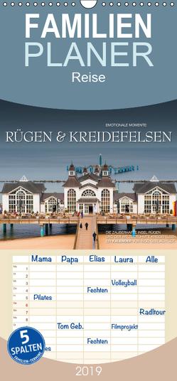 Emotionale Momente: Rügen & Kreidefelsen – Familienplaner hoch (Wandkalender 2019 , 21 cm x 45 cm, hoch) von Gerlach GDT,  Ingo
