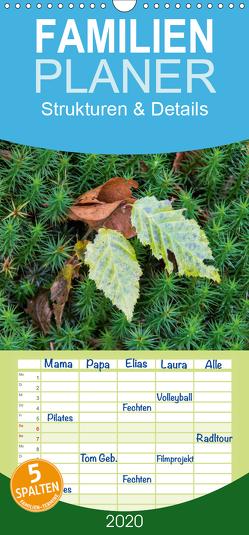 Emotionale Momente: Strukturen & Details – Familienplaner hoch (Wandkalender 2020 , 21 cm x 45 cm, hoch) von Gerlach GDT,  Ingo