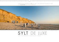 Emotionale Momente: Sylt de Luxe – die schönste deutsche Insel. (Wandkalender 2021 DIN A3 quer) von Gerlach,  Ingo