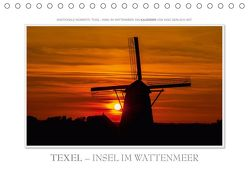 Emotionale Momente: Texel – Insel im Wattenmeer. (Tischkalender 2019 DIN A5 quer) von Gerlach GDT,  Ingo