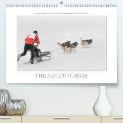 Emotionale Momente: The Art of Huskys. / CH-Version (Premium, hochwertiger DIN A2 Wandkalender 2021, Kunstdruck in Hochglanz) von Gerlach GDT,  Ingo