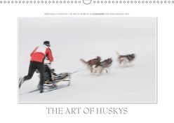 Emotionale Momente: The Art of Huskys. / CH-Version (Wandkalender 2018 DIN A3 quer) von Gerlach GDT,  Ingo