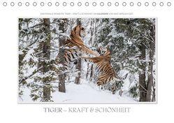 Emotionale Momente: Tiger – Kraft & Schönheit. / CH-Version (Tischkalender 2019 DIN A5 quer) von Gerlach GDT,  Ingo