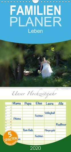 Emotionale Momente: Unser Hochzeitsjahr. – Familienplaner hoch (Wandkalender 2020 , 21 cm x 45 cm, hoch) von Gerlach,  Ingo