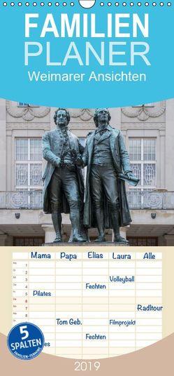 Emotionale Momente: Weimarer Ansichten. – Familienplaner hoch (Wandkalender 2019 , 21 cm x 45 cm, hoch) von Gerlach,  Ingo