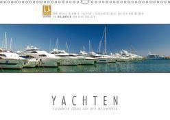 Emotionale Momente: Yachten – eleganter Luxus auf den Weltmeeren (Wandkalender 2019 DIN A3 quer) von Gerlach,  Ingo