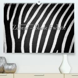 Emotionale Momente: Zebras – black & white. (Premium, hochwertiger DIN A2 Wandkalender 2021, Kunstdruck in Hochglanz) von Gerlach GDT,  Ingo