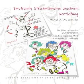 Emotionale Strichmännchen zeichnen von Engelhardt,  Manuela