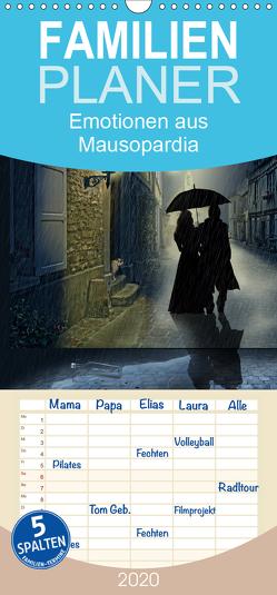 Emotionen aus Mausopardia – Familienplaner hoch (Wandkalender 2020 , 21 cm x 45 cm, hoch) von Jüngling,  Monika, Mausopardia,  alias
