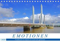 Emotionen – Frankreich ist einfach ein Land zum geniessen (Tischkalender 2020 DIN A5 quer) von Bussenius,  Beate