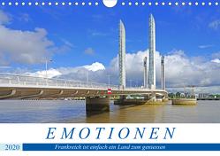 Emotionen – Frankreich ist einfach ein Land zum geniessen (Wandkalender 2020 DIN A4 quer) von Bussenius,  Beate