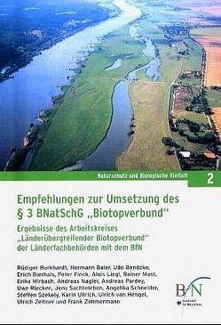 """Empfehlungen zur Umsetzung des § 3BnatschG """"Biotopverbund"""""""
