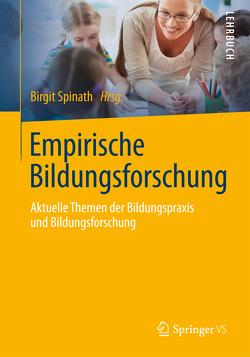 Empirische Bildungsforschung von Spinath,  Birgit
