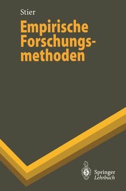 Empirische Forschungsmethoden von Stier,  Winfried
