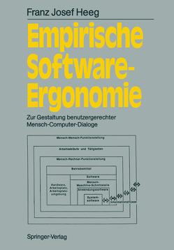 Empirische Software-Ergonomie von Heeg,  Franz J.
