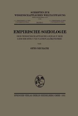 Empirische Soziologie von Neurath,  Otto