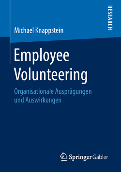 Employee Volunteering von Knappstein,  Michael