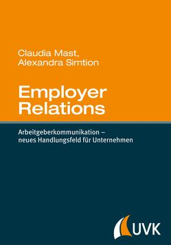 Employer Relations von Mast,  Claudia, Simtion,  Alexandra