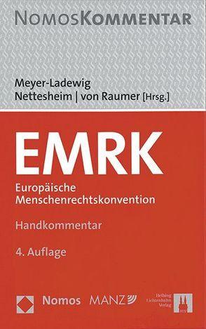 EMRK von Meyer-Ladewig, Jens, Nettesheim, Martin, von Raumer, Stefan