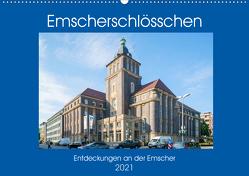 Emscher-Schlösschen (Wandkalender 2021 DIN A2 quer) von Hermann,  Bernd