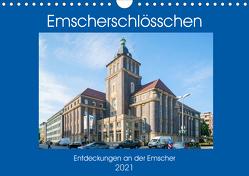 Emscher-Schlösschen (Wandkalender 2021 DIN A4 quer) von Hermann,  Bernd