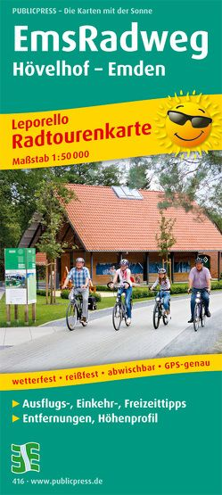 EmsRadweg, Hövelhof – Emden