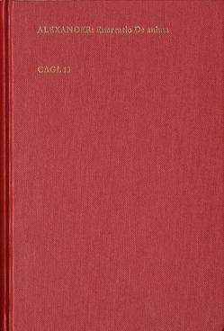 Enarratio de anima ex Aristotelis institutione von Aphrodisias,  Alexander, Donatus,  Hieronymus, Keßler,  Eckhard, Lohr,  Charles