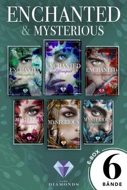 »Enchanted« und »Mysterious«: Alle Bände der beiden zauberhaften Trilogien in einer Mega-E-Box! von Loup,  Jess A.