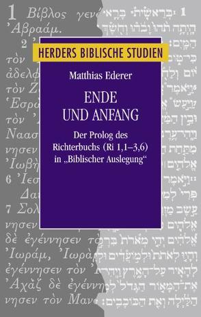 Ende und Anfang von Ederer,  Matthias