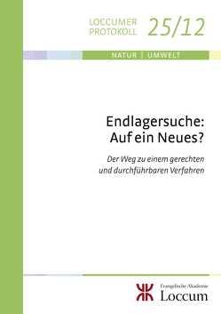 Endlagersuche: Auf ein Neues? von Müller,  Monika C.M.