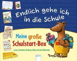 Endlich gehe ich in die Schule. Meine große Schulstart-Box von Bertrand,  Fréderic, Bettzieche,  Uta, Simon,  Sabine