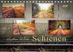 Endlose Weite – Schienen (Tischkalender 2020 DIN A5 quer) von Roder,  Peter